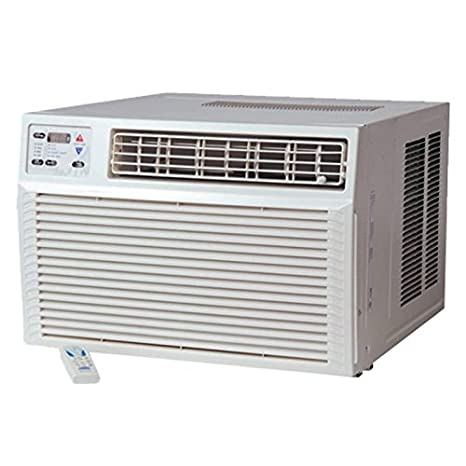 Amana ah093g35ax ventana aire acondicionado con bomba de calor 9500 BTU Cool copia de seguridad eléctrica ...