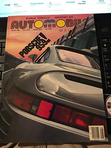 automobile magazine august 1986 16 valve scirocco maserati - Valve Scirocco 16