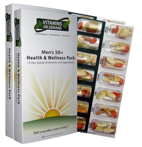 Vitamins On Demand Men's 50+ Health and Wellness Vitamin Pack