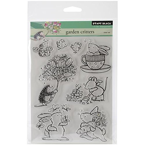 Penny Black Decorative Rubber Stamps, Garden ()