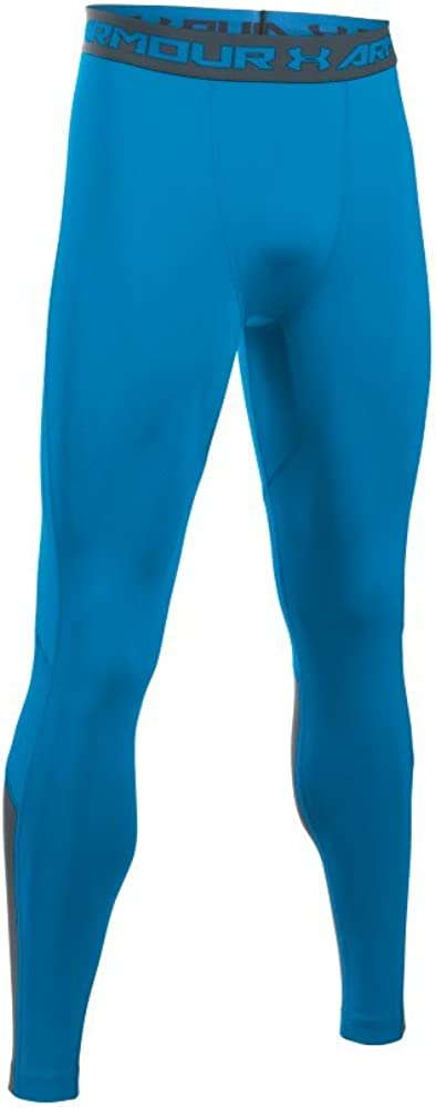 Under Armour Mens Hg CoolSwitch Compression Leggings in Brilliant Blue