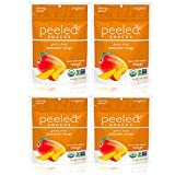 Peeled Snacks Organic Dried Fruit, Original Mango, 4 Count