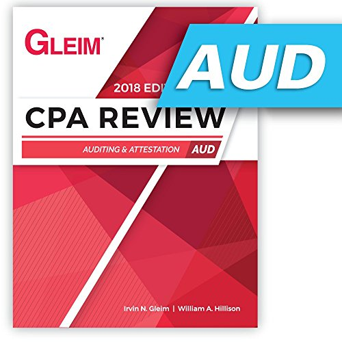 CPA Review Auditing 2018
