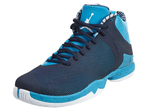 Jordan Super Fly 4.0 PO Men US 9.5 Blue Basketball Shoe by Jordan