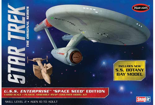 Polar Lights Star Trek TOS USS Enterprise Space Model Kit