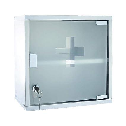 Amazon com: Jannyshop Stainless Steel Medicine Storage Box First Aid