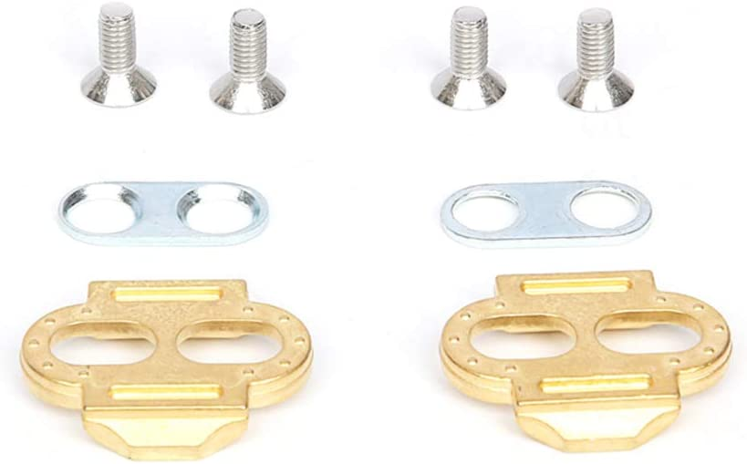 Shentesel MTB Mountain Road Bike Bicycle Premium Metal Pedal Cleats for Crank Brothers