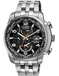 Mens Watch Citizen AT9010-52E Eco-Drive Radio Controlled World Time Stainless S