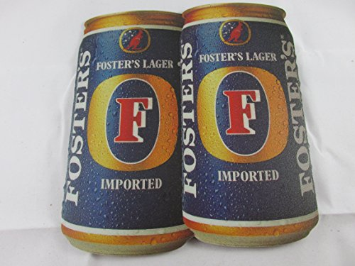 Foster's Lager Beer Can Mousepad - Super Thin Mouse Pad - Waterproof - Non-Slip