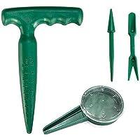 Juego herramientas jardín 4 piezas Fácil uso Aflojamiento