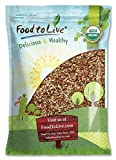 Organic Raw Pecan Pieces by Food to Live (Fresh Nuts, Bulk, Non-GMO, Kosher, Unsalted, Product of the USA, Best for Baking) — 6 Pounds