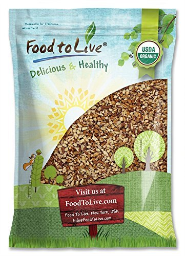 Organic Raw Pecan Pieces by Food to Live (Fresh Nuts, Bulk, Non-GMO, Kosher, Unsalted, Product of the USA, Best for Baking) — 6 Pounds Review