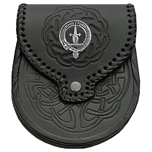 MacKay Scottish Clan Crest Badge Sporran ()
