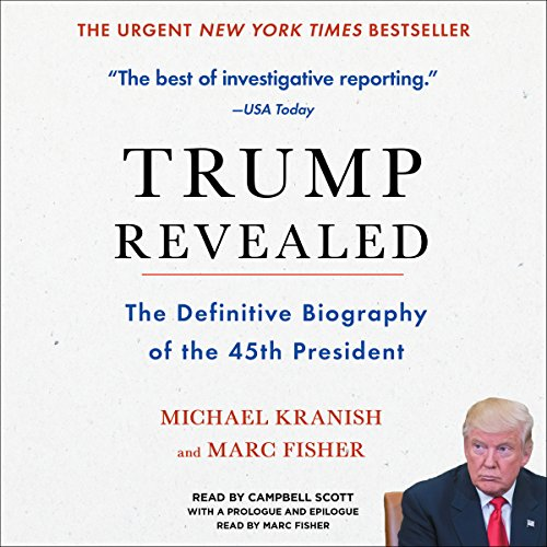 Trump Revealed: An American Journey of Ambition, Ego, Money, and Power Audiobook [Free Download by Trial] thumbnail