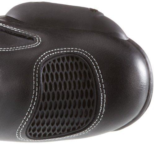 Protectwear SB-03203-46 Motorradstiefel, Sportstiefel Allroundstiefel, Sportstiefel Motorradstiefel, aus Leder, Größe 46, Schwarz f8d394