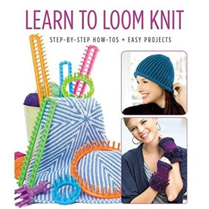 Leisure Arts Learn to Loom Knit 6498