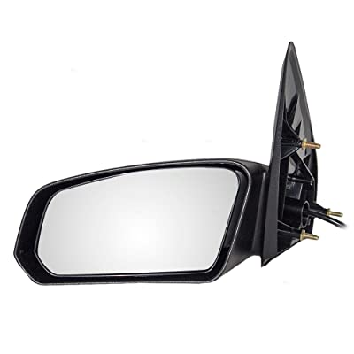 Replacement Driver Power Side Door Mirror Textured Compatible with 2003-2007 Ion Sedan 22726680: Automotive