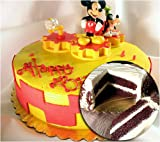 Mickey Mouse Personlized Birthday Chocolate Layer Cake