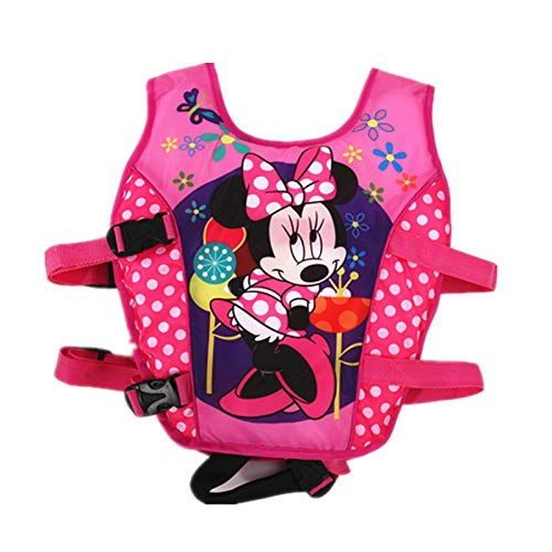 MYSportsworld M Professional Child Floating Vest Buoyancy Vest Buoyancy Swimsuit 3D Muscle Super Hero Spiderman Cartoon (Flat Mickey Mouse M) (Floating Spiderman)