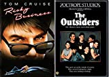 Risky Business & The Outsiders DVD 80's Movie Bundle Double Feature Set