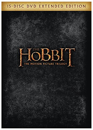 DVD : The Hobbit: The Motion Picture Trilogy (Oversize Item Split, Gift Set, Ultraviolet Digital Copy, Extended Edition, Digitally Mastered in HD)
