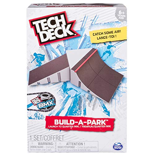 (Tech Deck 20072669  - Build-A-Park - Launch To Quarter Pipe Customize Your Park By Building It Your Way And Adding Additio l Build-A-Park Sets (Each Sold Separately)., Multi)