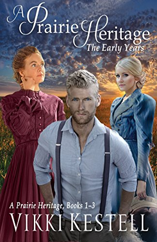 Faith-Filled Fiction at Its Best!Enjoy or share the perfect gift, the first three books of this enduring saga: A Prairie Heritage, The Early Years. The compelling saga of family, faith, and great courage.One Family, steeped in the love and grace of G...