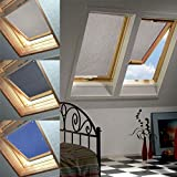 76 * 115cm Beige Skylight Roller Blind Thermo Sun Protection F. Velux GGL/GPL/GHL.