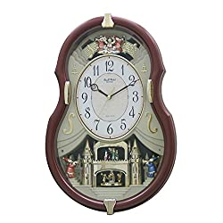 Rhythm Clocks Viola Entertainer II Musical Motion Clock
