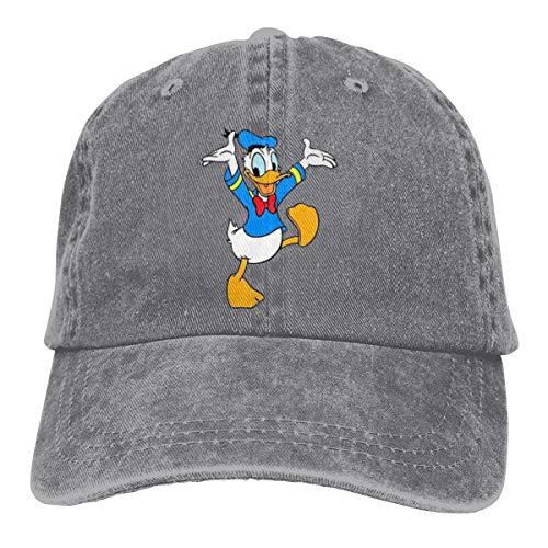 48 Donald Duck - Sakanpo Donald Duck Vintage Cowboy Baseball Caps Trucker Hats Gray