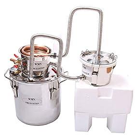 DIY Moonshine still 3 Pots Copper Cooler