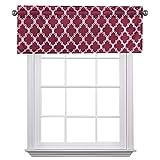 Flamingo P Triple Weave Soft Moroccan Tile Quatrefoil Unlined Thermal Insulated Grommet Blackout Window Curtain Panels, Pair/Set of 2 Panels, 52x84 inches Each-Dove