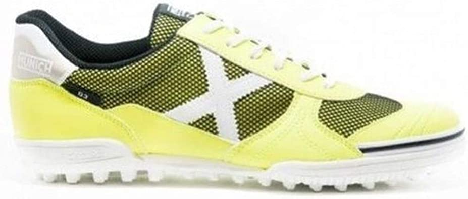 Munich Scarpa G-3 Genius 701 Giallo Fluo Calcetto Turf Outdoor: Amazon.es: Deportes y aire libre