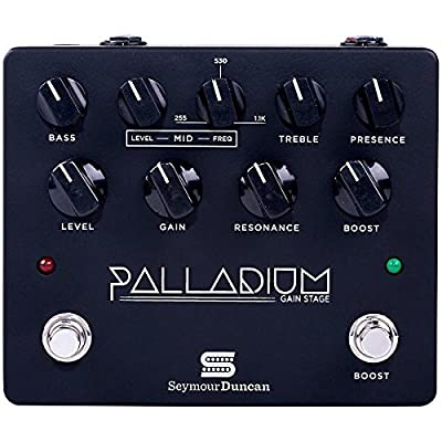 Seymour Duncan Palladium Gain Stage Distortion Guitar Effects Pedal (Black), from Seymour Duncan