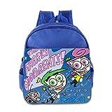 Kids The Fairly Oddparents School Backpack Cartoon Baby Boys Girls School Bags RoyalBlue