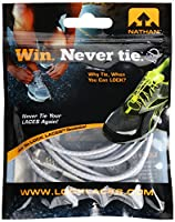 Nathan Shoe Lock Laces, Cool Grey, One Size