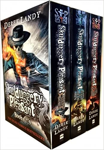 Skulduggery Pleasant Series 3 Derek Landy 3 Books Collection Box