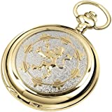 Woodford Men's Mechanical Pocket Watch with White Dial Analogue Display 1944/SK
