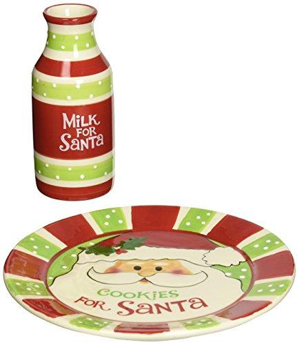 Plate Christmas Cookie -