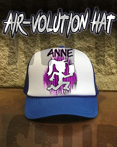 (Personalized Airbrushed Hatchet Girl Juggalette Snapback Trucker)