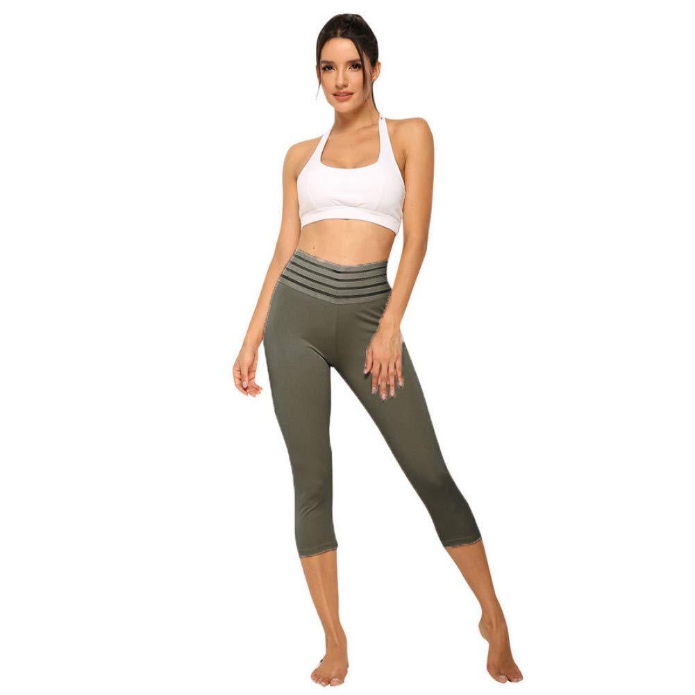 YUYOGAP Die beiläufigen Yogahosen der Frauen drücken die Taschenhüfte hoch, welche die reizvollen Yogahosengamaschen bequem sind Schnell trocknende Yogahosendamen