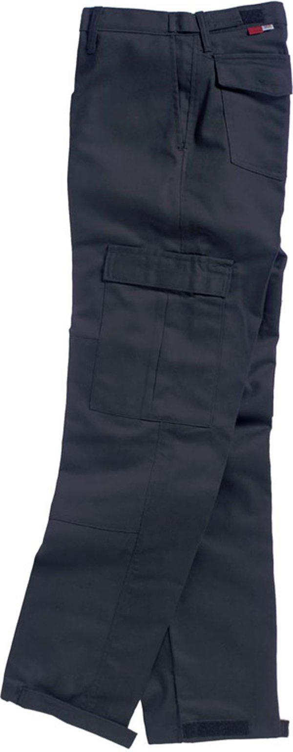 TWIN-PACK - TWO PAIRS OF FR CARGO PANTS - SAF-TECH Flame Resistant 9oz. INDURA ULTRA SOFT Cargo Work Pant - HRC 2 - MADE IN THE U.S.A. - NAVY BLUE (Waist=34 - Inseam=30) by Saf-Tech (Image #1)
