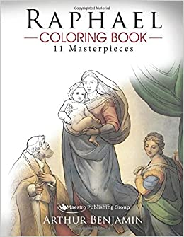 raphael coloring book 11 masterpieces