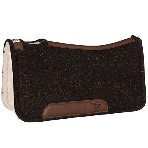 Diamond Wool Contoured Pleasure w/Wool Fleece Pad (Merino Saddle Pad)