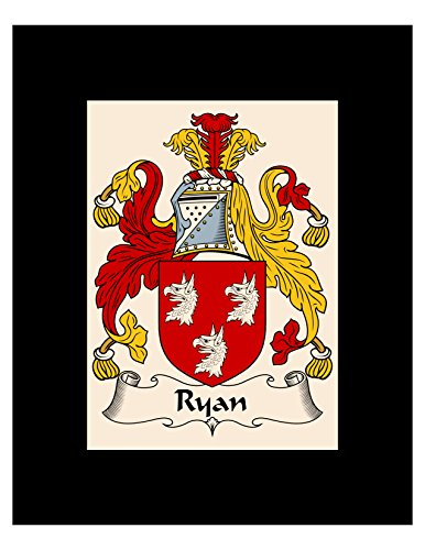 - Ryan Coat of Arms / Ryan Family Crest 8X10 Photo Plaque, Personalized Gift, Wedding Gift