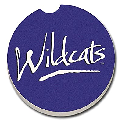 CounterArt Collegiate Absorbent Stoneware Car Coaster, Kentucky Fan