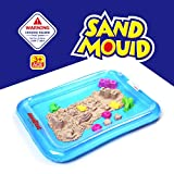 Kinetic Play Sand Molds and Tools Kit + Sand tray, Magic Space Sand Molding Toys Set - Works with Kinetic Sand, Moon Sand, and other Molding Sand by AnanBros