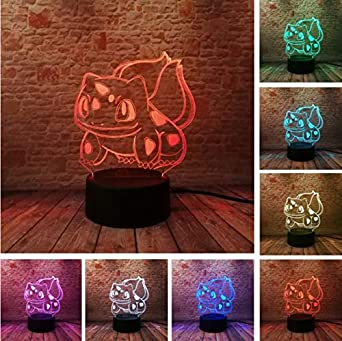 Veilleuse Illusion Go Optical Anime Nuit Lamp Cartoon Figure Pokemon If6bgyvY7m