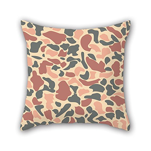 PILLO-18-X-18-Inches-45-By-45-Cm-Camo-Throw-Pillow-Covers-twin-Sides-Ornament-And-Gift-To-Outdoorvalentinesonbeddinggirlsstudy-Room