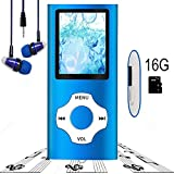 MP3 Player / MP4 Player, Hotechs MP3 Music Player 16GB Memory SD Card